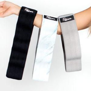 Sada odporových gum – Tmavě šedá, marble bílá, černá